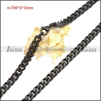 Stainless Steel Chain Neckalce n003116H