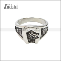 Stainless Steel Ring r008643SA