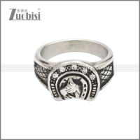 Stainless Steel Ring r008645SA