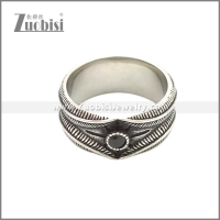 Stainless Steel Ring r008648SA1