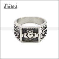 Stainless Steel Ring r008650SA